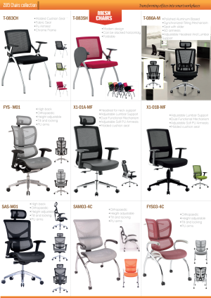 Office Furniture Catalog Chairs Sofas Coffee Tables