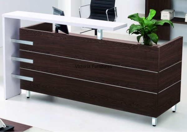 Reception desk oz 830 victoria furnitures ltd for Y furniture victoria