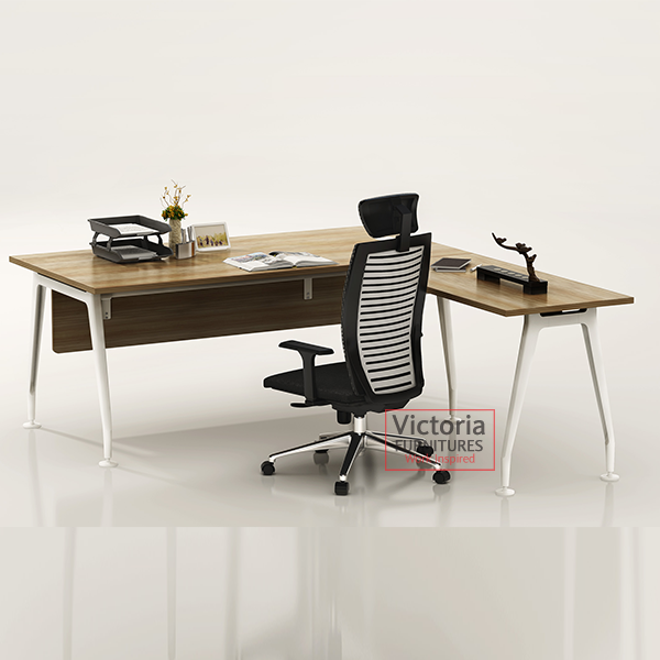 L Shaped Desk Mdsdfr560pc 187 Victoria Furnitures Ltd